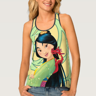 Mulan and Mushu 2 Tank Top