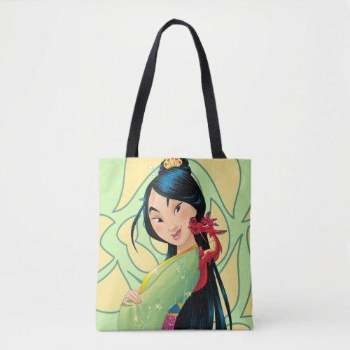 Mulan & Mushu Tote Bag   Best Gifts for Mulan Fans