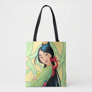 Mulan and Mushu 2 Tote Bag