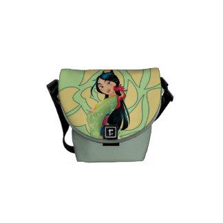 Mulan and Mushu Courier Bag