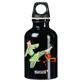 Mulan and Mushu Kicking SIGG Traveler 0.3L Water Bottle