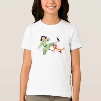 Mulan and Mushu Kicking T-Shirt