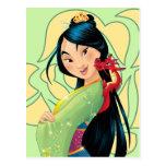 Mulan and Mushu Post Cards