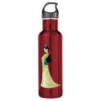 Mulan and Mushu Stainless Steel Water Bottle