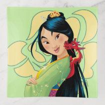 Mulan and Mushu Trinket Trays