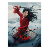 Mulan Battlefield Theatrical Art Poster