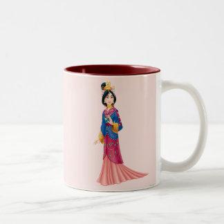 Mulan Dress Two-Tone Coffee Mug