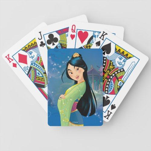 Mulan Playing Cards   Best Gifts for Mulan Fans
