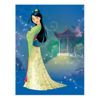 Mulan   Fearless Dreamer Postcard