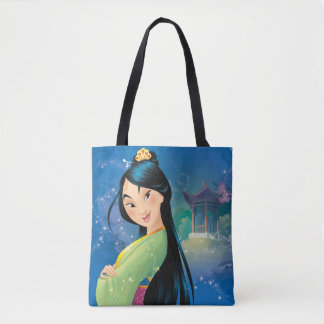 Mulan   Fearless Dreamer Tote Bag
