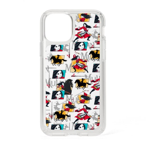 Mulan Illustrated Panels Pattern Speck iPhone 11 Pro Case