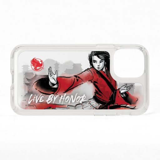 "Mulan ""Live By Honor"" Watercolor Speck iPhone 11 Pro Case"