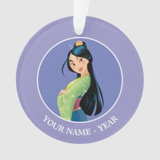 Mulan | Mulan Hands Crossed Add Your Name Ornament