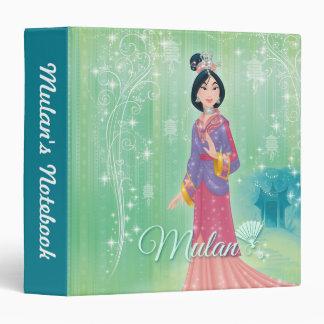 Mulan Princess 3 Ring Binder