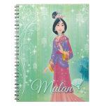 Mulan Princess Notebook