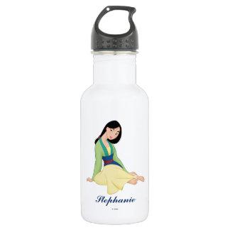 Mulan Sitting Stainless Steel Water Bottle