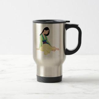 Mulan Sitting Travel Mug