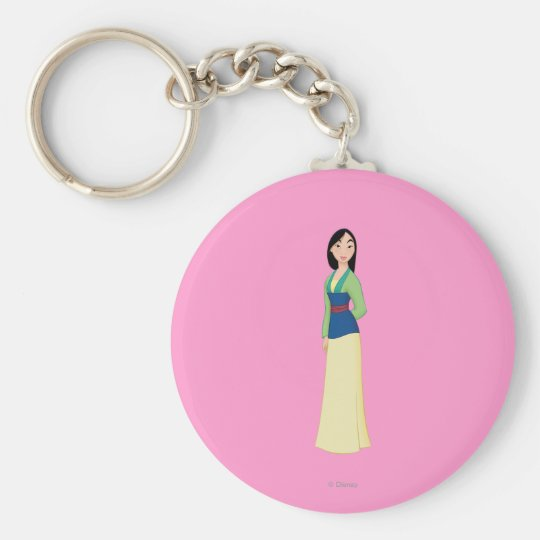 Mulan Standing Keychain