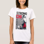 "Mulan ""Strong Chi"" Illustration T-Shirt"