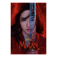 Mulan Sword Reflection Theatrical Art Poster