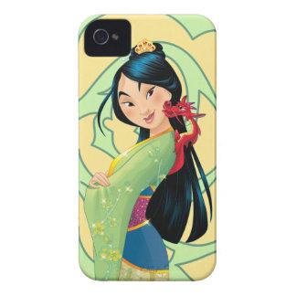 Mulan y Mushu iPhone 4 Case-Mate Carcasas