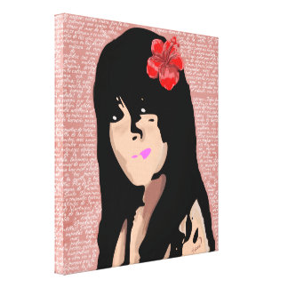 Mulata-Antilla Wrapped Canvas Gallery Wrapped Canvas
