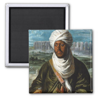 Mulay Ahmad 2 Inch Square Magnet