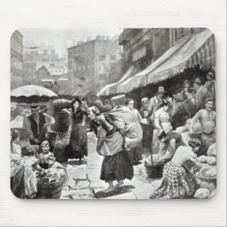 Mulberry Bend Italian Colony in New York Mouse Pad