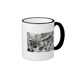 Mulberry Bend Italian Colony in New York Mugs
