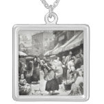 Mulberry Bend Italian Colony in New York Personalized Necklace