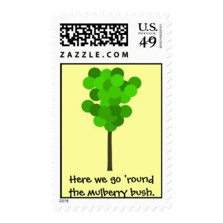 mulberry bush stamp