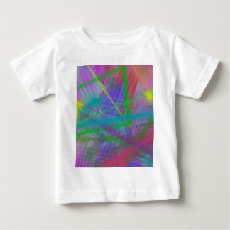 Mulberry Day Dream Pastel Color Ricochet Abstract Baby T-Shirt