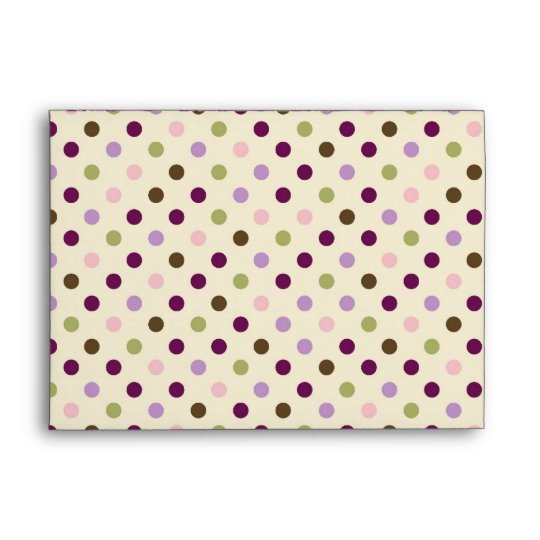 Mulberry Dot Envelope A7