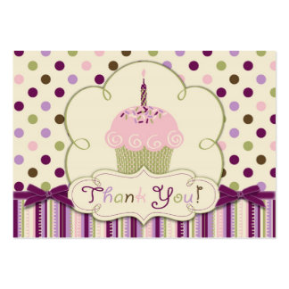 Mulberry Dot TY Gift Tag Large Business Cards (Pack Of 100)