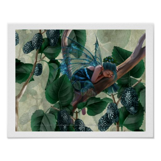 Mulberry Fairy Print