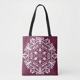 Mulberry Mandala Tote Bag
