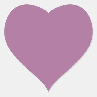 Mulberry Heart Sticker