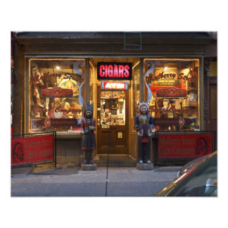 Mulberry Street Cigar Company, Color Photo Print