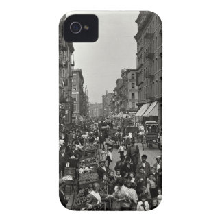 Mulberry Street in New York City, ca. 1900 iPhone 4 Cover
