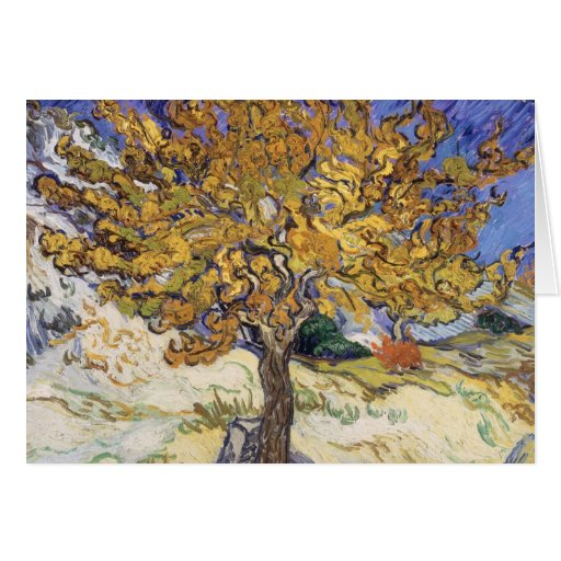 Mulberry Tree, 1889 Greeting Card