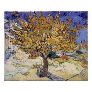 Mulberry Tree 1889 Posters