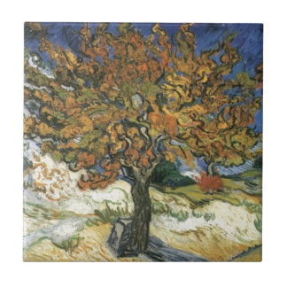 Mulberry Tree by van Gogh Ceramic Tile
