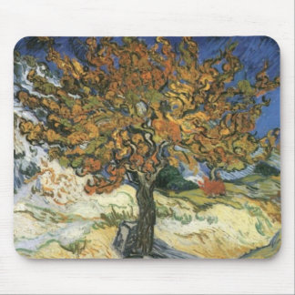 Mulberry Tree by van Gogh Mouse Pad