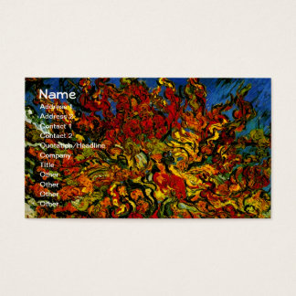 Mulberry Tree Van Gogh Fine Art Business Card