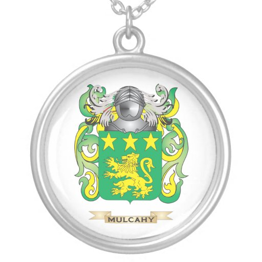Mulcahy Coat of Arms (Family Crest) Jewelry
