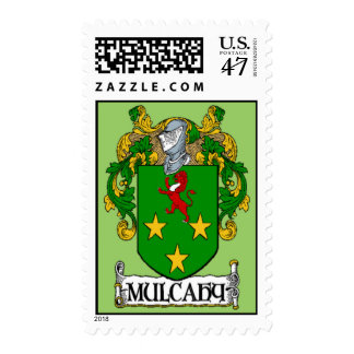 Mulcahy Coat of Arms Postage Stamps