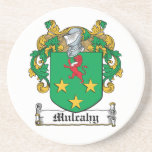 Mulcahy Family Crest Beverage Coaster