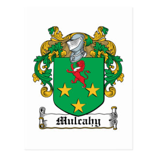 Mulcahy Family Crest Postcard