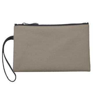 Mulch Brown in an English Country Garden Wristlet Clutches