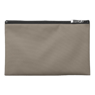 Mulch Brown in an English Country Garden Travel Accessory Bags